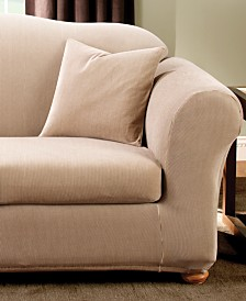 Stretch Stripe 2-Piece Slipcover Collection