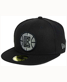 New Era Los Angeles Clippers Black Graph 59FIFTY Cap