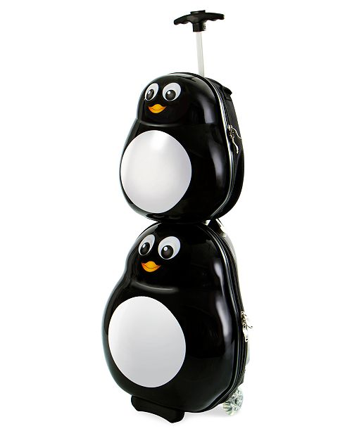 88118ea31c84 Heys Travel Tots Penguin 2-PC Luggage & Backpack Set & Reviews ...
