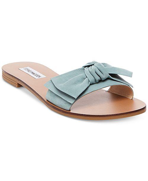 722cfe9bf97 Steve Madden Women s Knotss Bow Sandals   Reviews - Sandals ...