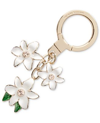 kate spade new york Triple Flower Key Fob