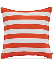 "Bastia Fiesta Stripe 16"" Square Decorative Pillow"