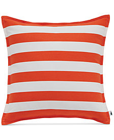 "Lacoste Home Bastia Fiesta Stripe 16"" Square Decorative Pillow"