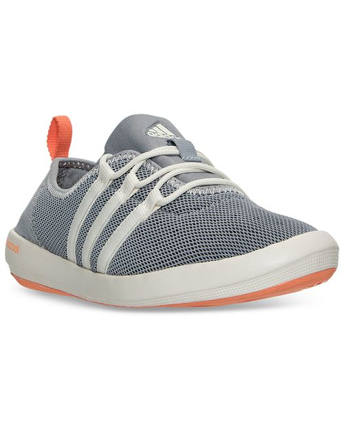 promo code f3e72 7d1ed ... adidas Womens Terrex ClimaCool Boat Sleek Outdoor Sneakers from Finish  ...