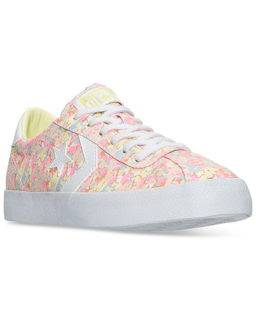 Converse Women s Breakpoint Floral Casual Sneakers from Finish Line ... 7cac24cb8