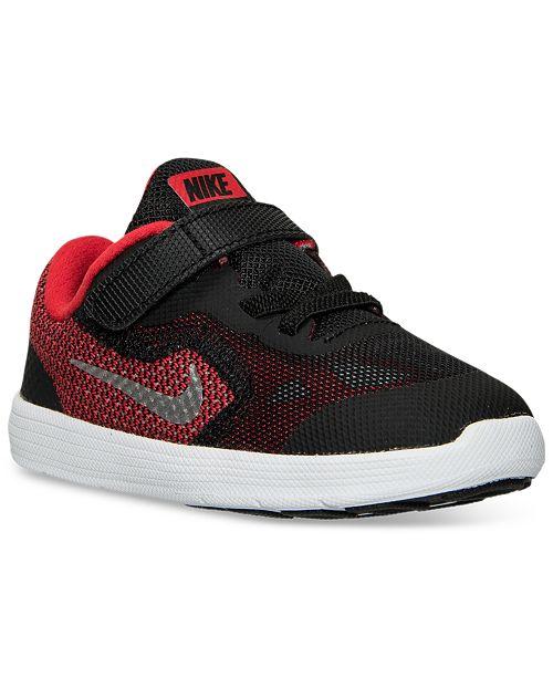 93ae2731b58 Nike Toddler Boys  Revolution 3 Running Sneakers from Finish Line ...