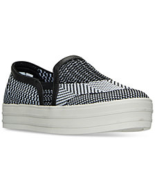 Skechers Women's Double Up Slip-On Casual Shoes from Finish Line