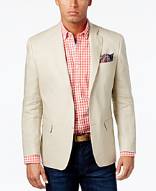 Lauren Ralph Lauren Men's Big & Tall Classic-Fit Ultra-Flex Solid Linen Sport Coat