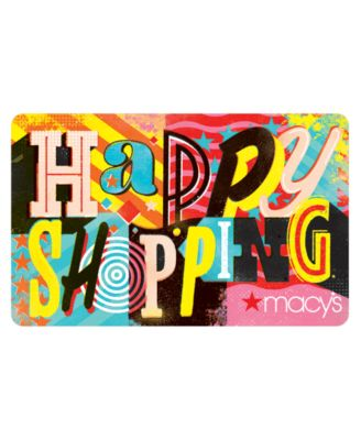 Happy Shopping E-Gift Card - Gift Cards - Macy's