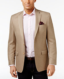 Lauren Ralph Lauren Men's Big & Tall Classic-Fit Neat Ultra-Flex Sport Coat