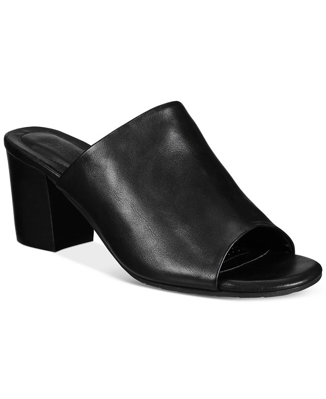 Kenneth Cole Reaction Mass-Ter Mind Block Heel Sandals