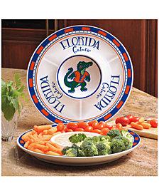 Memory Company Florida Gators Ceramic Round Chip & Dip Plate