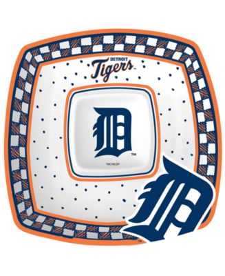 Detroit Tigers Gameday Ceramic Chip & Dip Plate