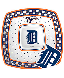 Memory Company Detroit Tigers Gameday Ceramic Chip & Dip Plate