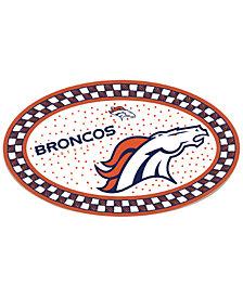 Memory Company Denver Broncos Oval Platter