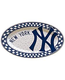 Memory Company MLB Oval Platter