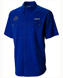 Columbia Men's Florida Gators Low Drag Off Shore Button Up Shirt