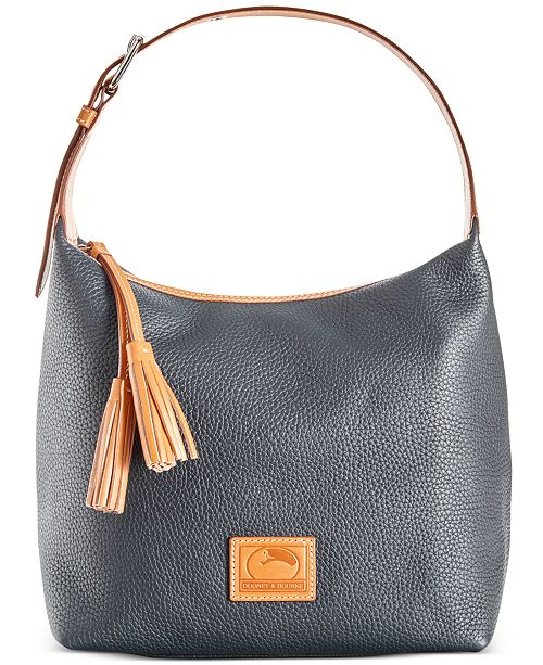 c9ed9de6fb Dooney   Bourke Patterson Leather Paige Pebble Leather Hobo ...