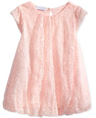 Image of First Impressions Schiffli Bubble Dress, Baby Girls (0-24 months), Only at Macy's