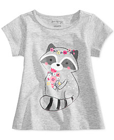 First Impressions Cotton Graphic-Print T-Shirt, Baby Girls (0-24 months), Created for Macy's