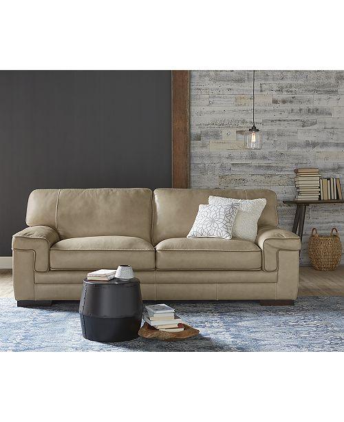 Tremendous Myars Leather Sofa Collection Machost Co Dining Chair Design Ideas Machostcouk
