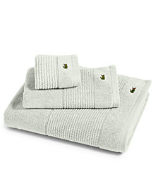 "Lacoste Legend 13"" Square Supima Cotton Washcloth"