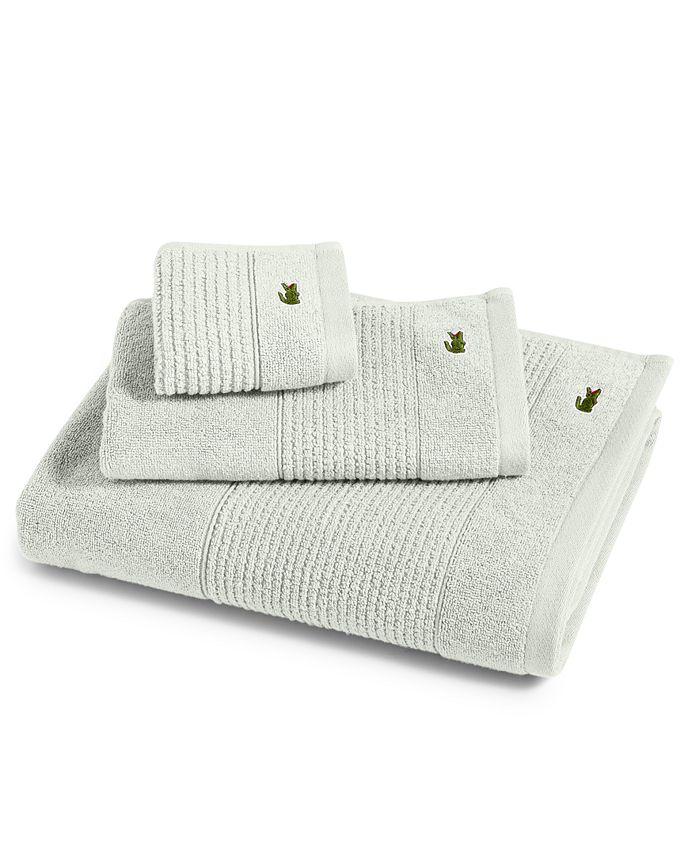 """Lacoste - Legend 35"""" x 70"""" Supima Cotton Bath Sheet"""