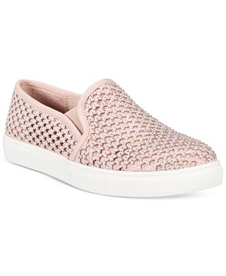 Material Girl Eidyth Slip-On Embellished Sneakers, Only at Macy's