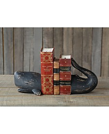 2-Pc. Whale Bookend Set