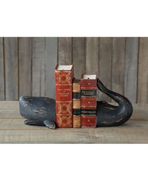 Image of 2-Pc. Whale Bookend Set