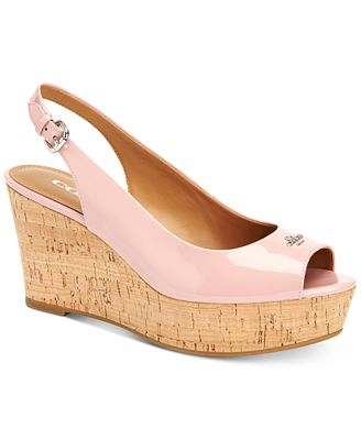 COACH Ferry Platform Wedges