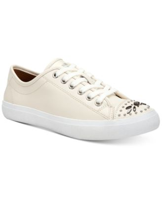 coach outlet online official website i5wj  COACH Elle Lace-Up Sneakers