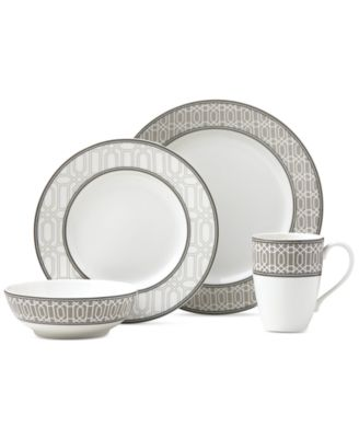 Neutral Party Link 4-Piece Place Setting