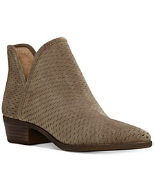 Baley Perforated Chop Out Booties