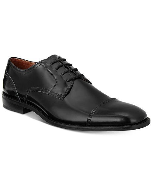 Johnston & Murphy Men's Knowland Cap-Toe Oxfords Men's Shoes m0Hk4