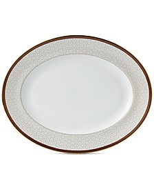 Byzance Collection Oval Platter