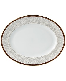 Wedgwood Byzance Collection Oval Platter