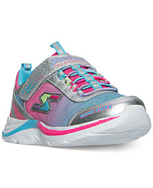 Skechers Little Girls' Game Kicks: Swift Kicks - Super Skillz Casual Athletic Sneakers from Finish Line