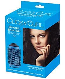 "Click N Curl 2.25"" Blowout Brush Set Expansion Kit"