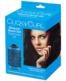 "Click N Curl 2.25"" Blowout Brush Set Expansion Kit"
