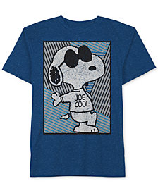 Peanut's® Snoopy Graphic-Print T-Shirt, Big Boys