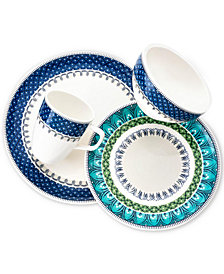 Villeroy & Boch Casale Blu 4-Piece Place Setting, Created for Macy's