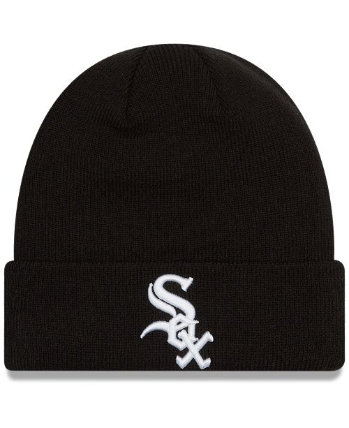 4c5f465f6552ec New Era Chicago White Sox Basic Cuffed Knit Hat & Reviews - Sports ...