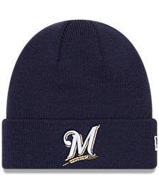 Milwaukee Brewers Basic Cuffed Knit Hat