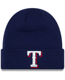 New Era Texas Rangers Basic Cuffed Knit Hat