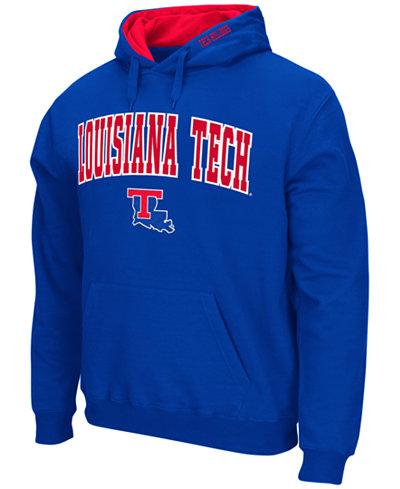 Colosseum Men's Louisiana Tech Bulldogs Arch Logo Hoodie