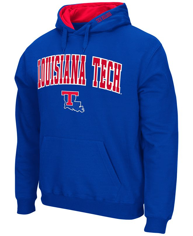 Colosseum Men's Louisiana Tech Bulldogs Arch Logo Hoodie