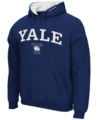 Colosseum Men's Yale Bulldogs Arch Logo Hoodie