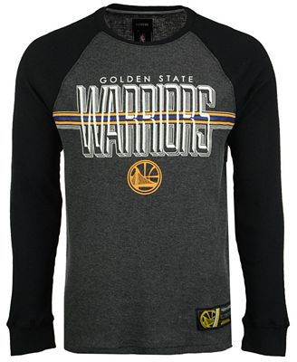 Unk Men's Golden State Warriors Co-Captain Thermal Long Sleeve T-Shirt