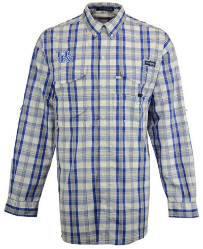 Columbia Men's Kentucky Wildcats Super Bonehead Long Sleeve Shirt